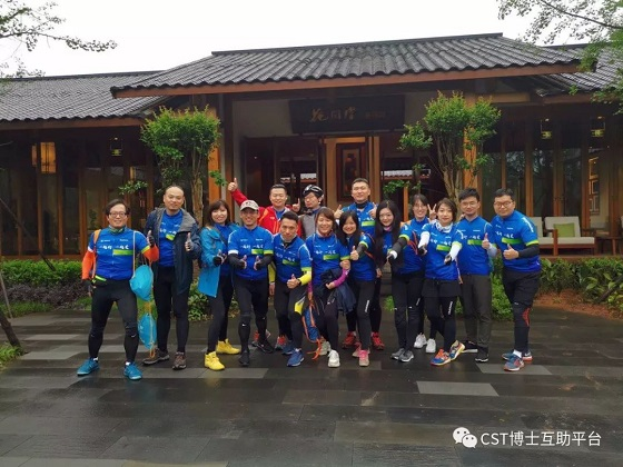 为募善款筹建雅安乡村小学图书角,董增军代表CST中国参与公益骑行
