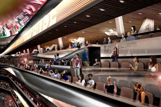 ROSSETTI:體育館設計新革命——倒置碗