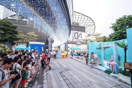韓國水上運動品牌Barrel在天環廣場開展夏日繽紛游園會