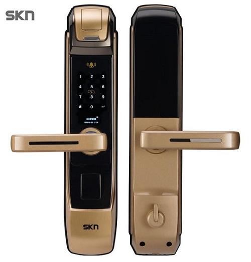 skn司铠智能门锁提升智慧居家品质,让你享受惬意生活