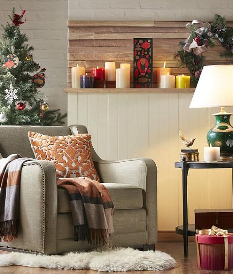 布置小角落,Harbor House秒速制造圣诞气氛