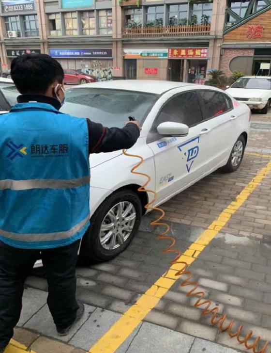 朗达车服:共享汽车全面消毒,为用户健康出行保驾护航