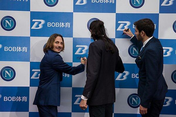《【超越平台总代理】BOB体育签约那不勒斯 掀起体育直播市场新浪潮》