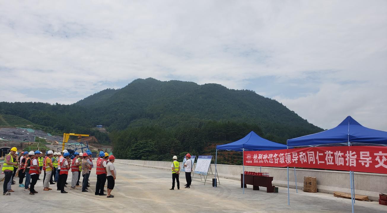 大广C6项目部成功举办桥下整治提升观摩会